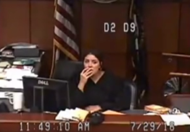 Screen Shot 2016 07 31 at 11.18.28 Jail Sends Woman To Court With No Pants, Judge Goes Ballistic
