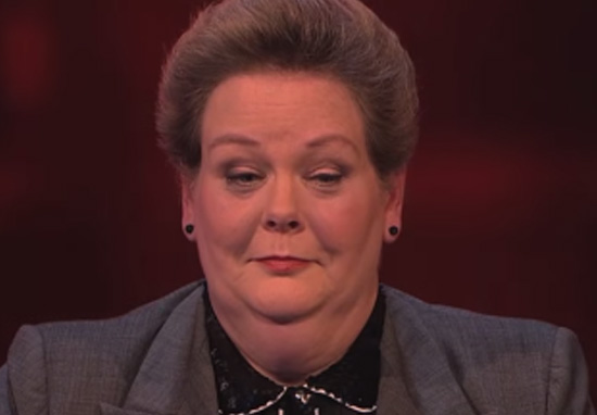asmflaskfaksfasfaknsflaknfakinf Anne Hegerty Got D*ck On Last Nights Episode Of The Chase