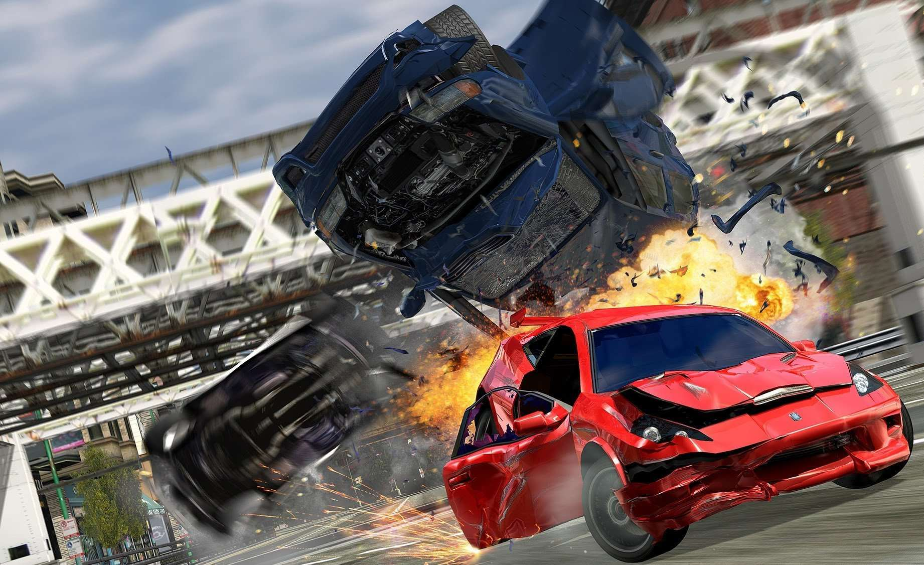 burnout crash Burnout Devs Begin Work On New Driving Game