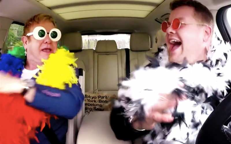 elton1 Theres Going To Be Carpool Karaoke Spin Off, But Youll Be Disappointed