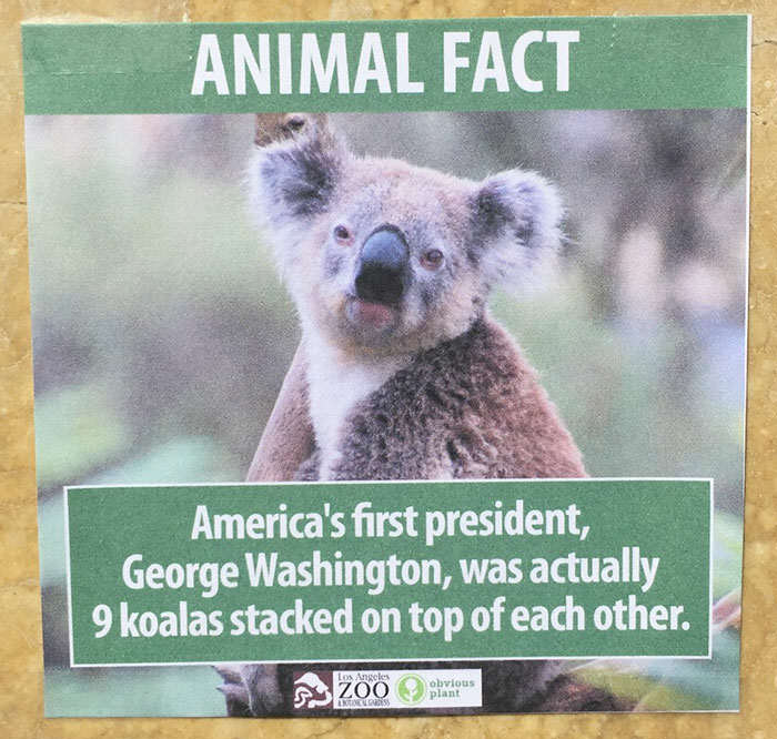 funny animal facts fake los angeles zoo obvious plant 1 5776743b0fd2b  700 Prankster Brilliantly Trolls Zoo With Made Up Animal Facts