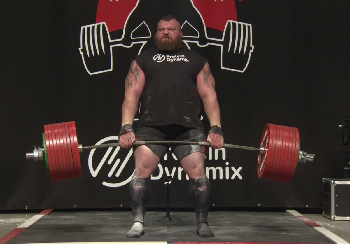 hall3 1 Strongman Nearly Dies During Record Breaking Deadlift Attempt