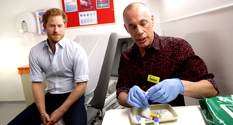 harryy Prince Harry Just Got His HIV Results On Facebook Live