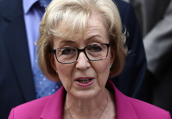 Andrea Leadsom Doesnt Trust Men With Kids Because Theyre Likely Paedophiles lead1
