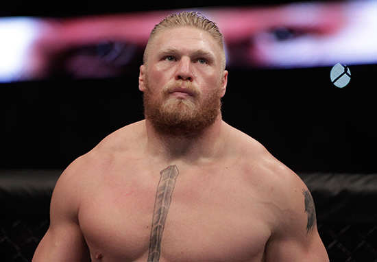 les1 Brock Lesnar Doesnt Give A Sh*t How UFC 200 Affects WWE Career