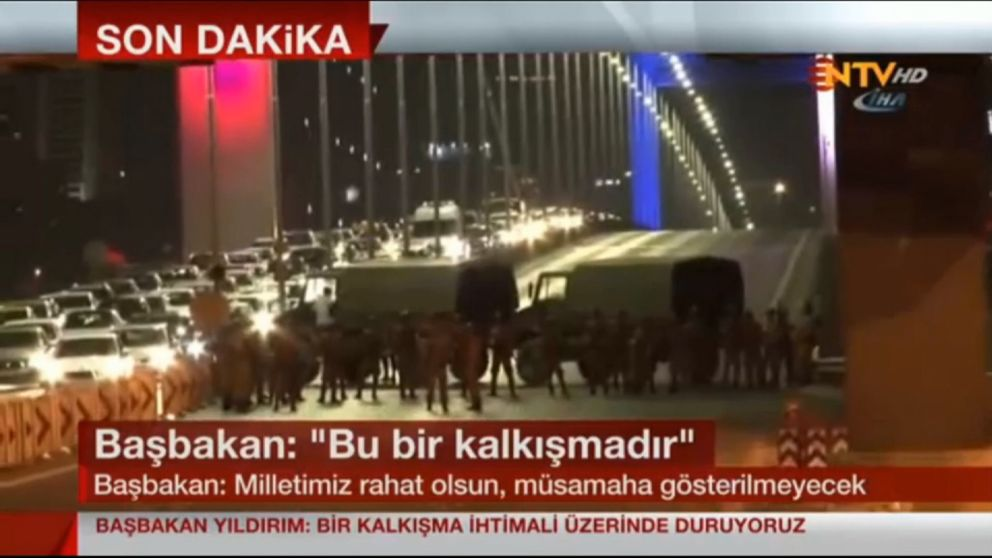 ntv Turkish Military Says It Has Taken Over The Nation