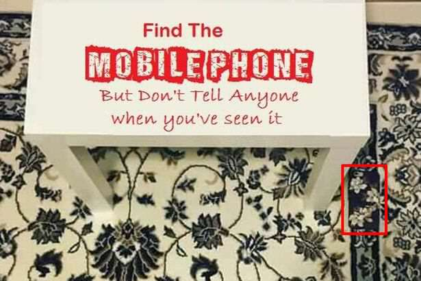 Nobody Can Find The Phone In This Photo And Its Driving Them Mad phone11