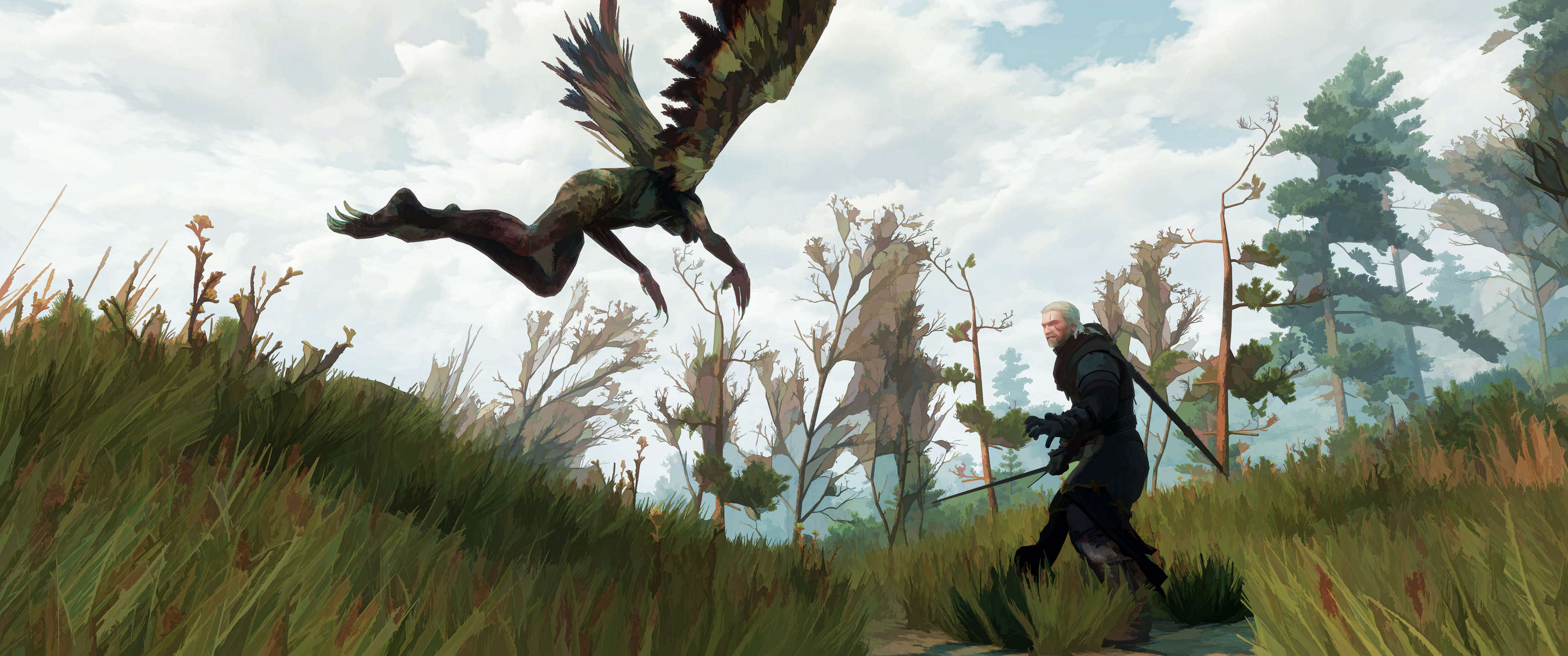 This Guy Turned His Witcher 3 Screenshots Into Works Of Art rdotpWD
