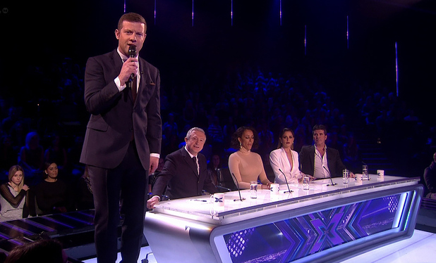 simon cowell dermot o leary x factor Dermot OLeary Just Became TVs Highest Paid UK Presenter