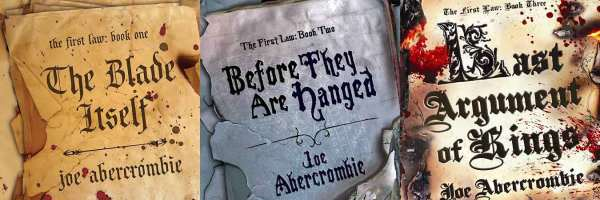 Five Fantasy Series They Need To Turn Into TV Shows Next the first law trilogy joe abercrombie slice