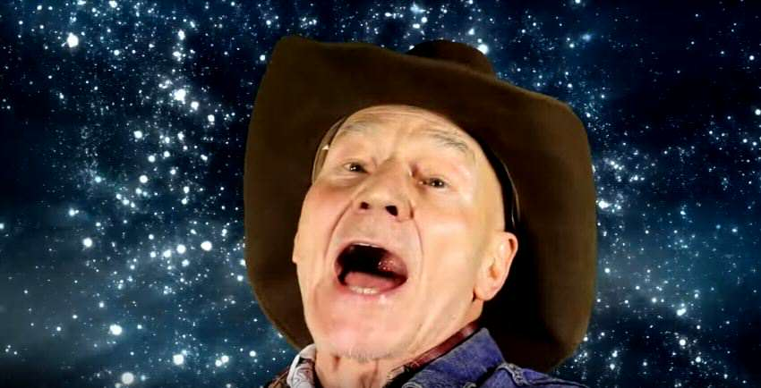 Patrick Stewart Goes Country For Great Cause In Outrageous Ad vid 4 1
