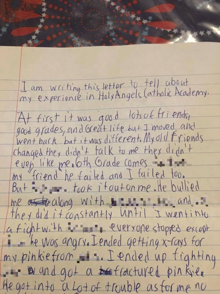 4d532c6557afb4a2fee8633ecf6d1a8d Heartbreaking Final Letter Of Bullied Schoolboy Who Commited Suicide