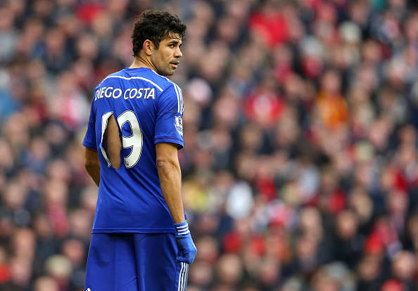 La Liga Star Urges Chelsea Attacker To Join Him In Spain Diego Costa Getty shirt rip