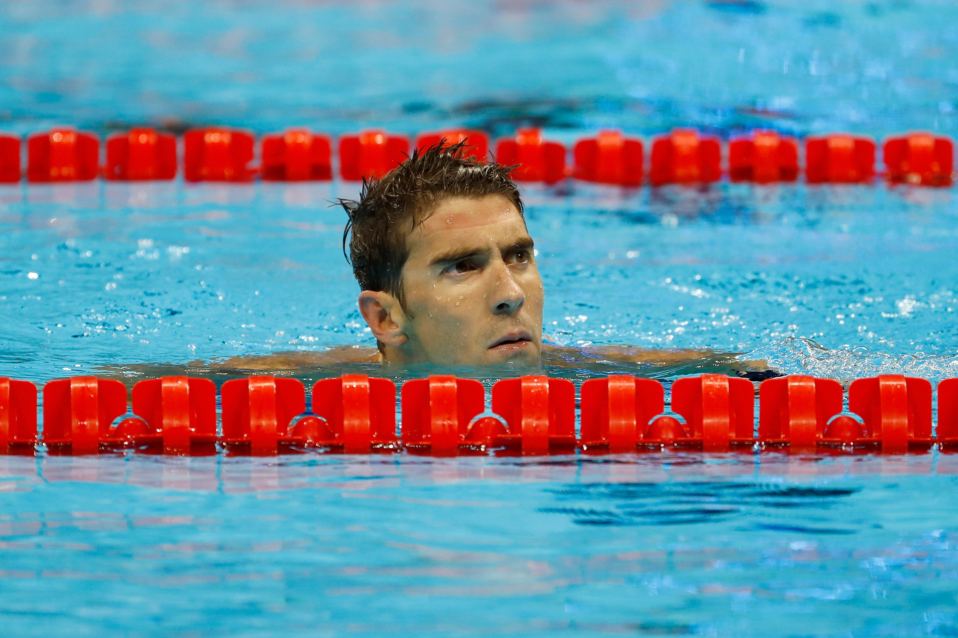 Michael Phelps Answered That Question About Peeing In The Olympic Pool GettyImages 588322728