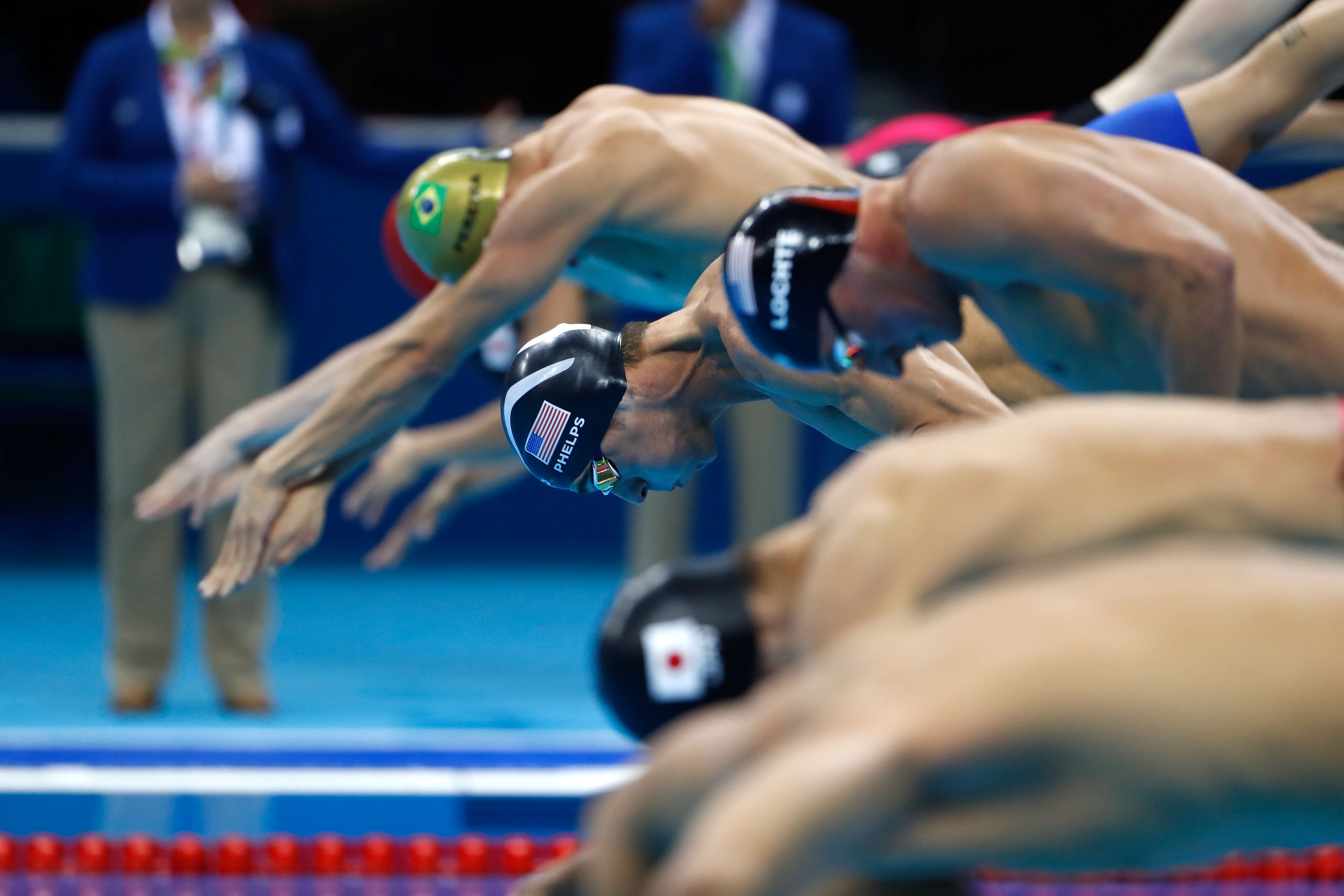 This Is American Olympian Michael Phelps New Diet GettyImages 588641530