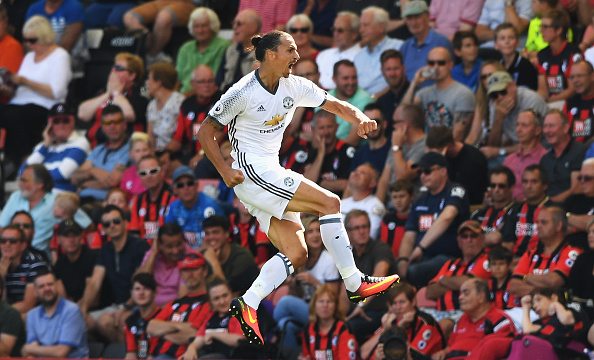 Ibra Getty Celebration Bournemouth 4 Manchester United Legend Has Some Interesting Views On Zlatan