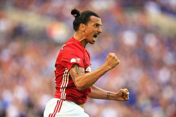 Ibra Getty Community Shield 1 Zlatan Makes Incredible Gesture For Uniteds Young Stars