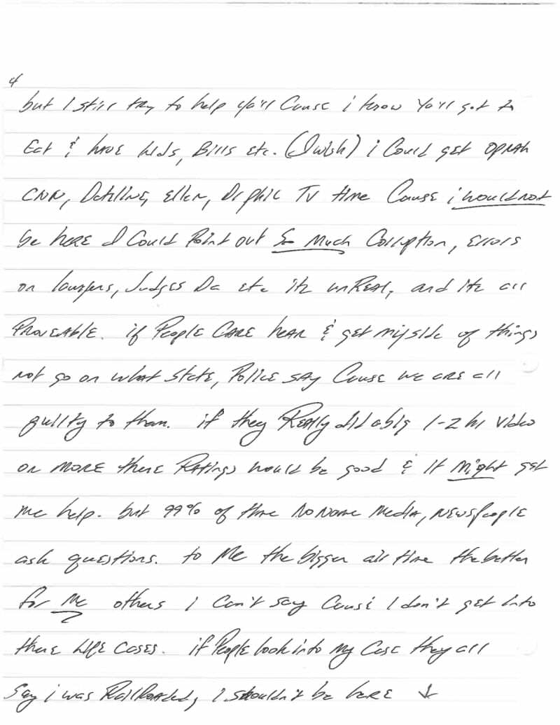 Jeff Wood Letter 4 This Harrowingly Depressing Letter Reveals The Reality Of Death Row
