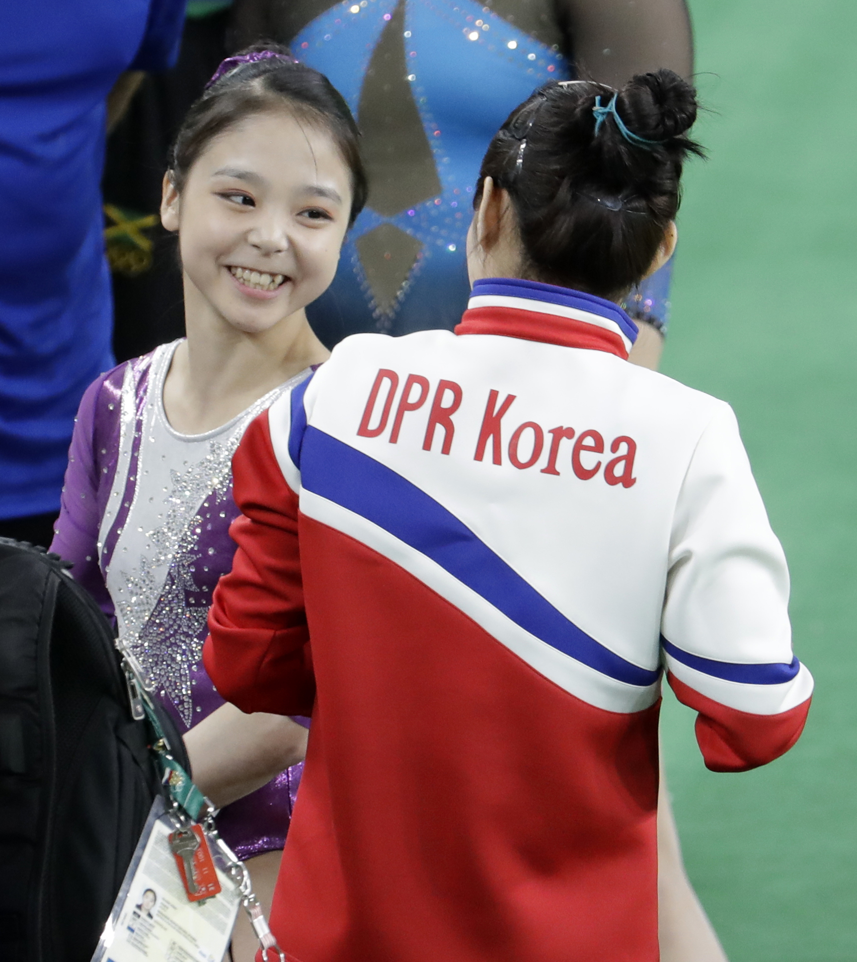 PA 28261514 Olympics Brings North And South Korean Athletes Together For Iconic Selfie