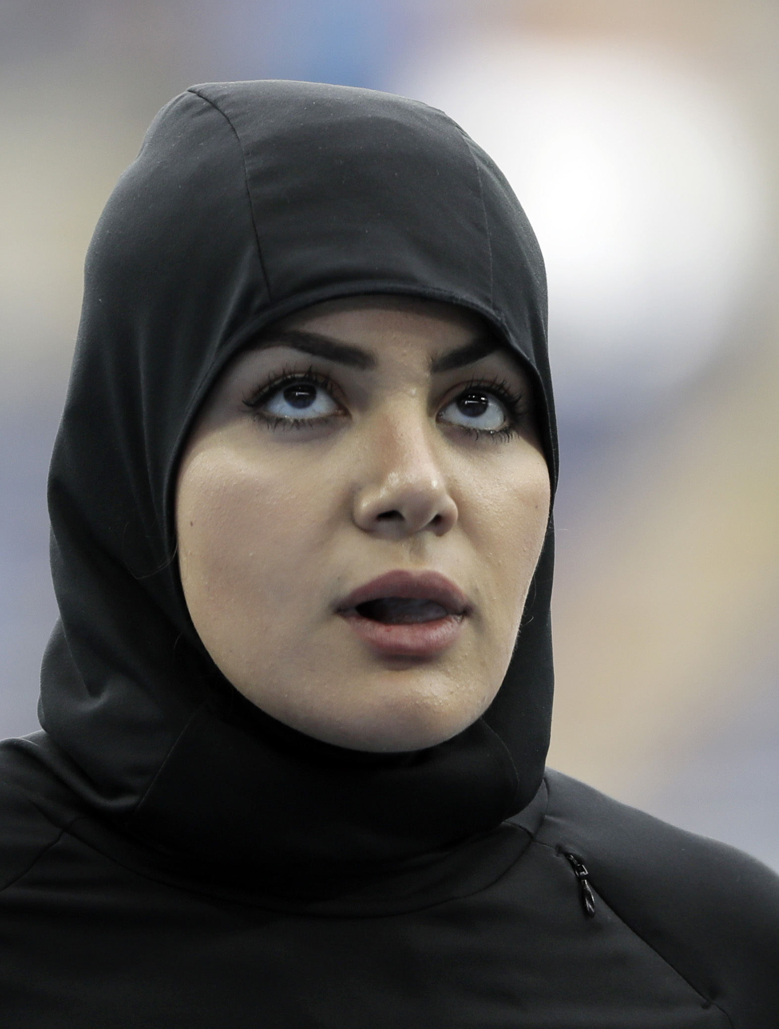 Historic Moment Sprinter Becomes First Saudi Woman To Run 100m At Olympics PA 28330935
