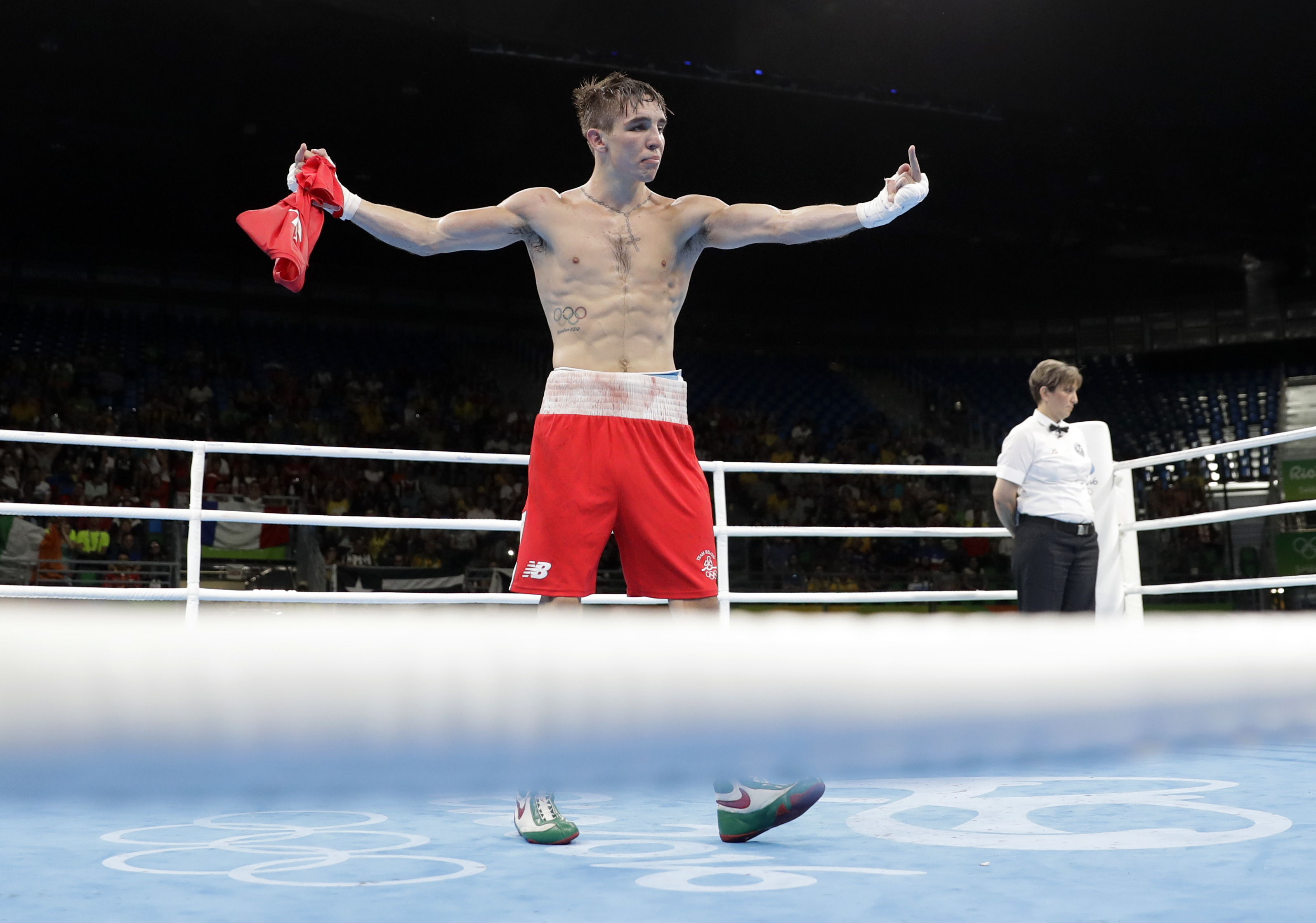 PA 28377515 Boxing Statisticians Reveal Whether Michael Conlan Shouldve Won Yesterday