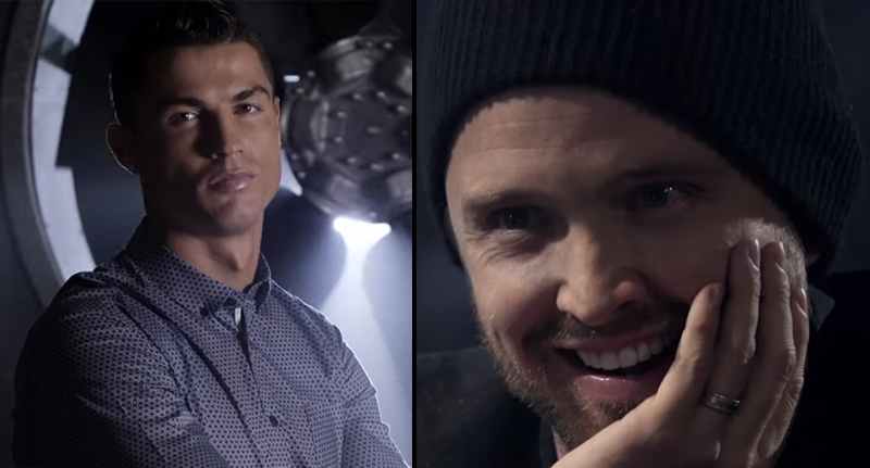 Poker FB 1 Cristiano Ronaldo Playing Breaking Bads Aaron Paul At Poker Is Epic
