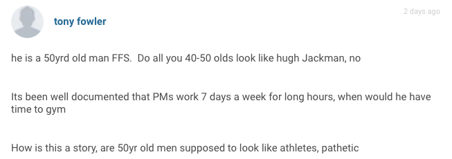 Screen Shot 2016 08 05 at 11.13.56 The Sun And Daily Mail Body Shame David Cameron, Commenters Are Furious