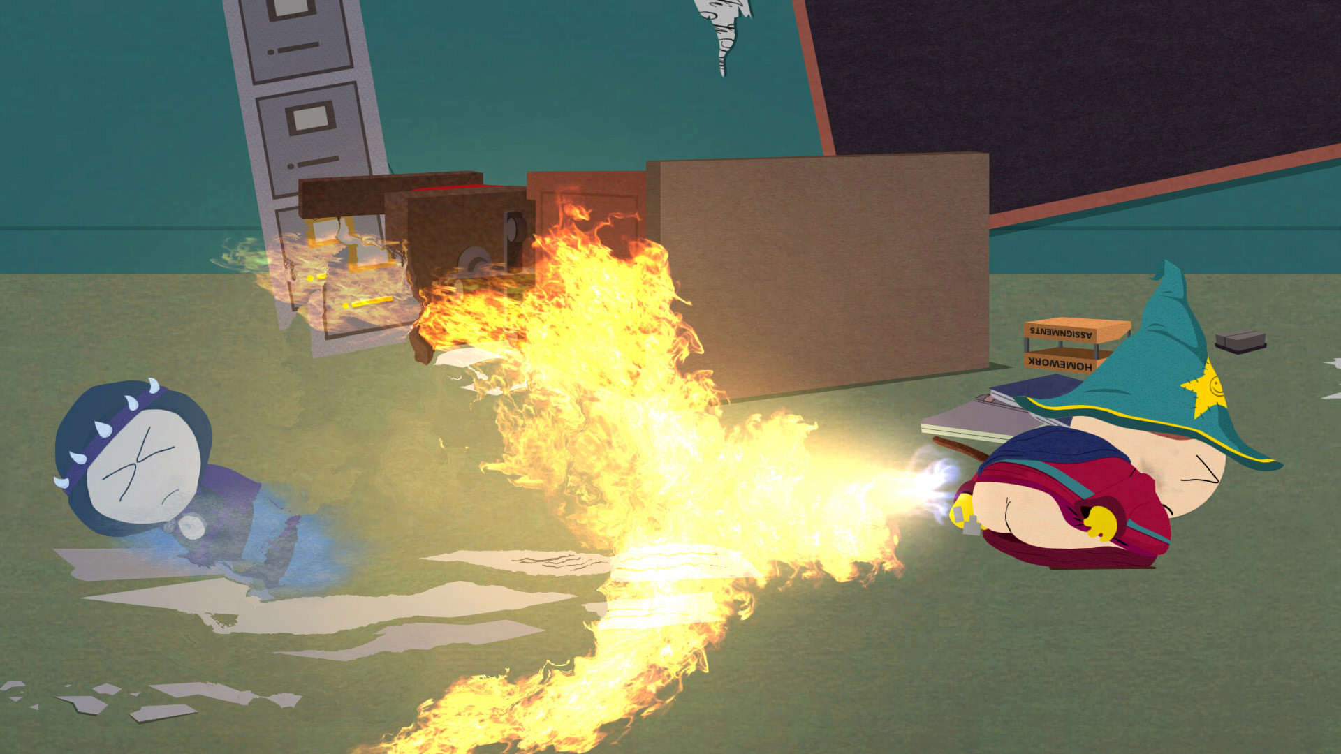 South Park Stick of Truth 01 South Park Games VR Fart Simulator Looks Incredible