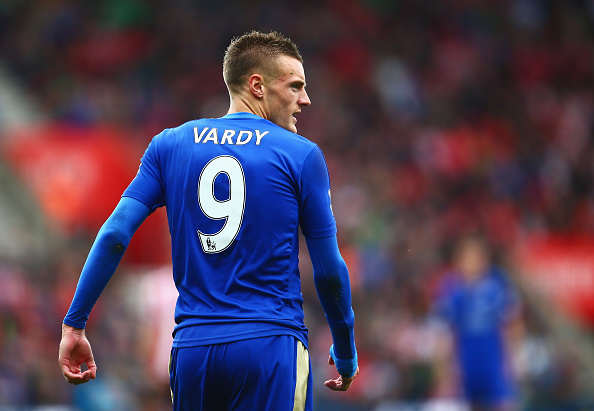 Vardy getty Vardy Makes Shocking Claim About His Life After Title Winning Season