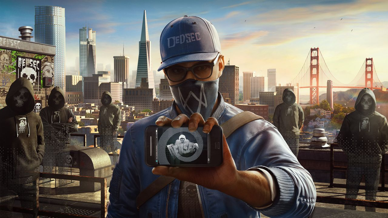 WD2 art marcusrooftop e3 160613 230pm 1465823196.0.0 New Watch Dogs 2 Footage Highlights Open World Multiplayer Mayhem