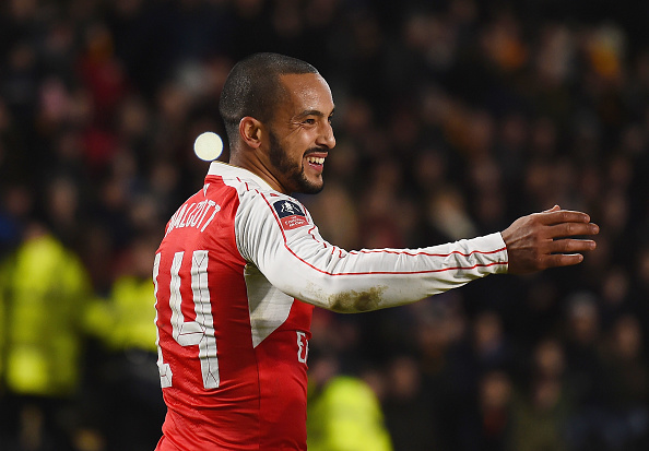 Walcott Getty 2 1 Arsene Wenger Makes Utterly Ludicrous Theo Walcott Claim