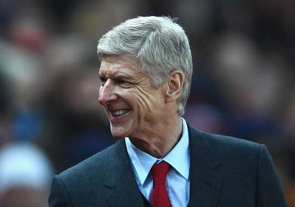 Wenger Getty Smile 2 Arsene Wenger Makes Utterly Ludicrous Theo Walcott Claim