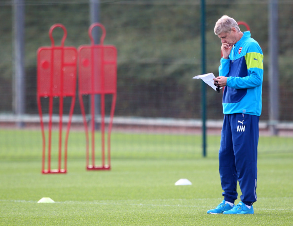 Wenger Getty Training 1 Arsenal Find New Target As Defender Search Hits New Low