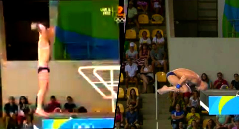 divedive Olympic Diver Comes Terrifyingly Close To Smashing Head Off Solid Platform