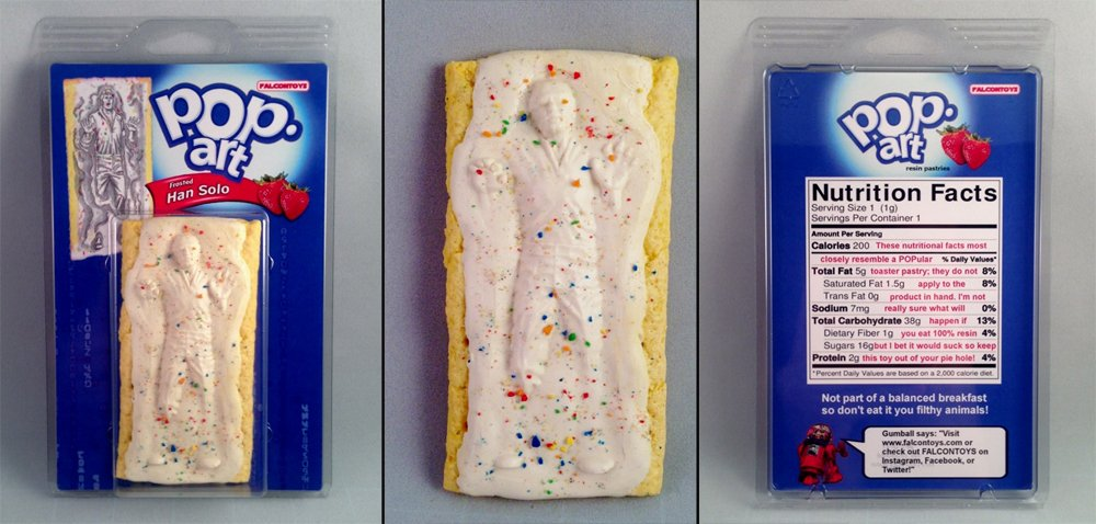 dork Heres How To Make A Han Solo Frozen In Carbonite Fridge