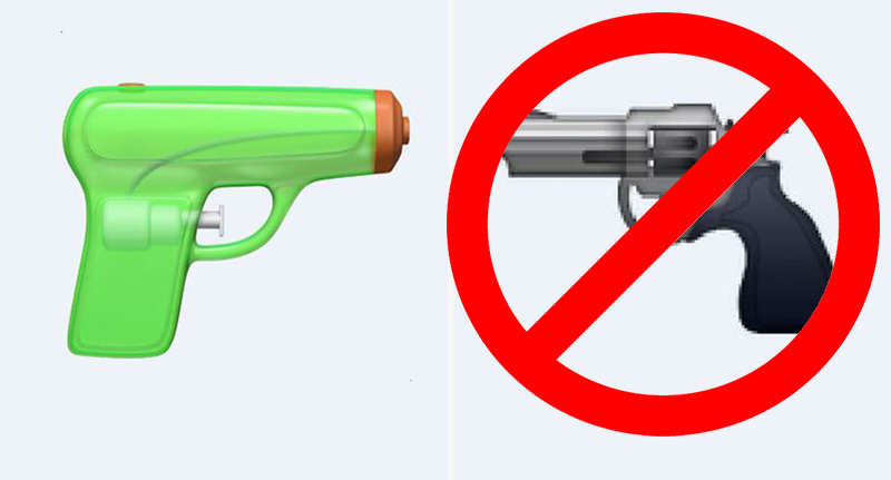 gun People Are Furious After Apple Has Decided To Censor A Popular Emoji