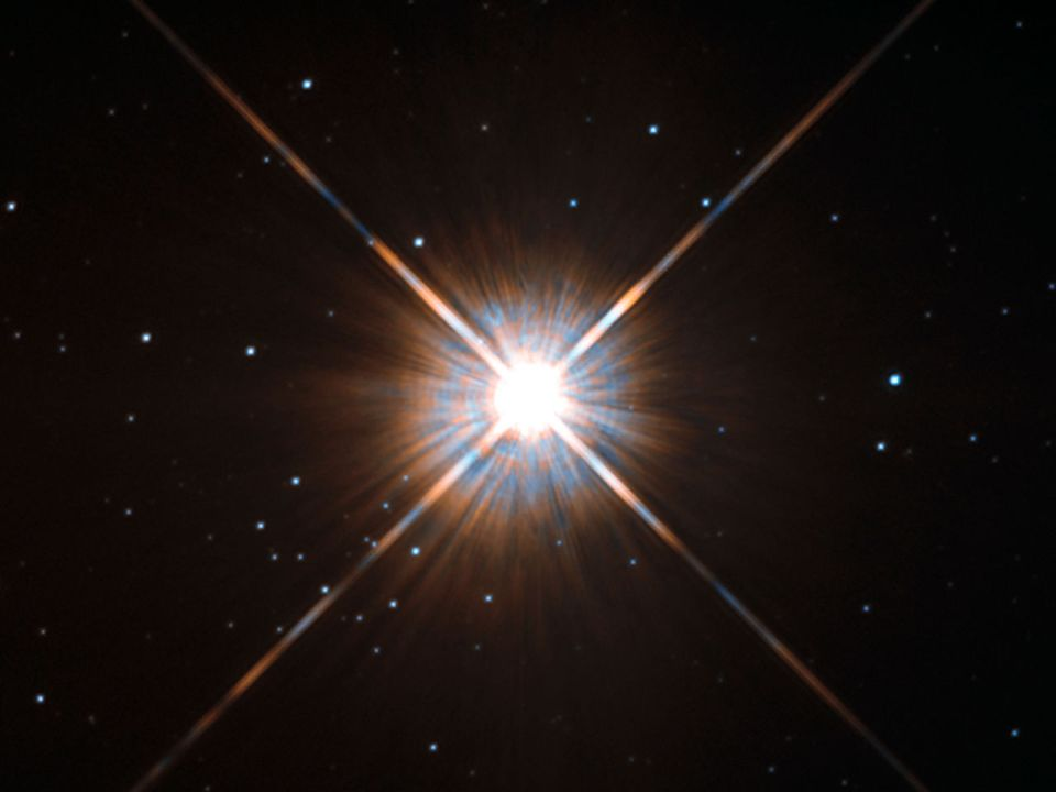 new shot of proxima centauri our nearest neighbour