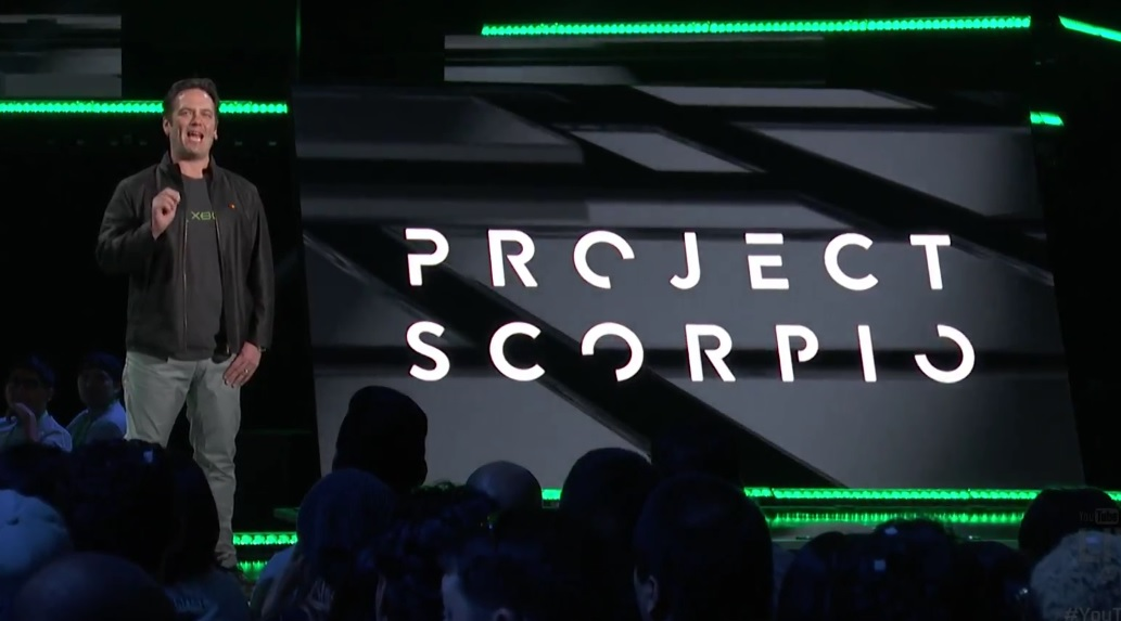 Microsoft Think This Is The End Of Console Generations phil spencer project scorpio 1