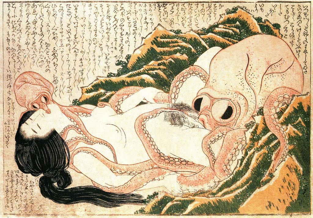 1024px Tako to ama retouched Tentacle Porn Began Because Of This Really Old Picture Apparently