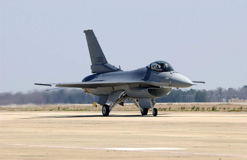 14709 an f 16 fighting falcon on a runway pv How F 16 Fighter Pilot Tried To Stop 9/11 By Sacrificing Her Own Life
