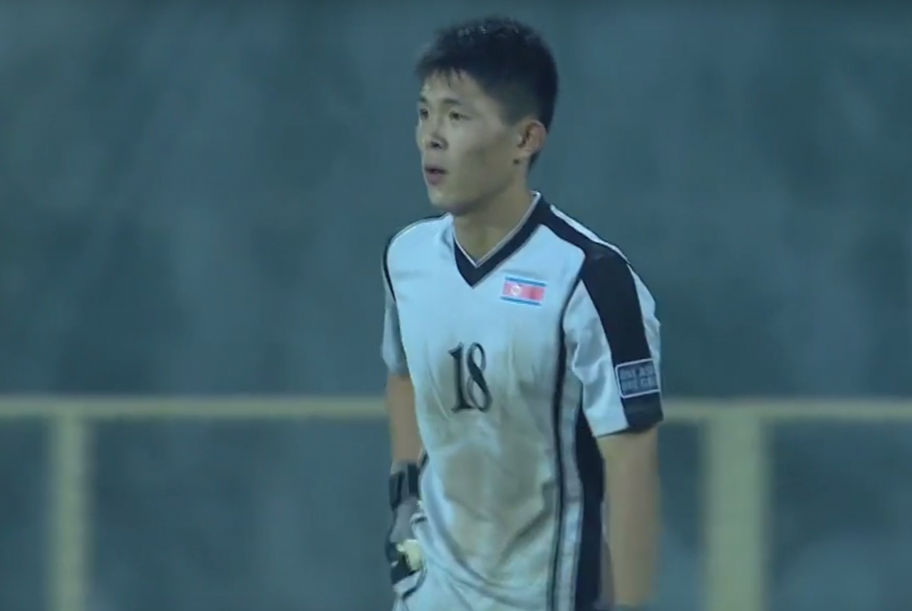 340a4b094e0e3128df404cdb2d5c152c North Korean Goalkeeper Makes Absolute Howler As Opposite Number Scores