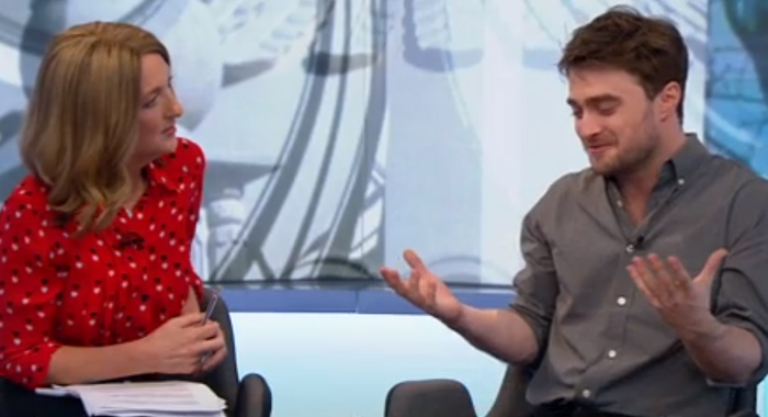 DanielRadcliffe RascismWEB Daniel Radcliffe Admits Hollywood Is Undeniably Racist