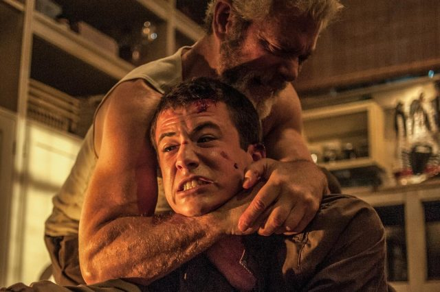 Dylan Minnette and Stephen Lang in Dont Breathe 640x426 Dont Breathe: Tense, Scary And Nasty, Basically The Perfect Horror Film
