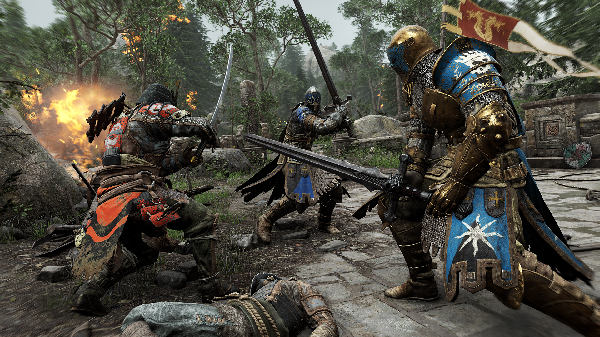 FH screenshot 02 FULL 255373 For Honor Gets Three Glorious New Character Trailers