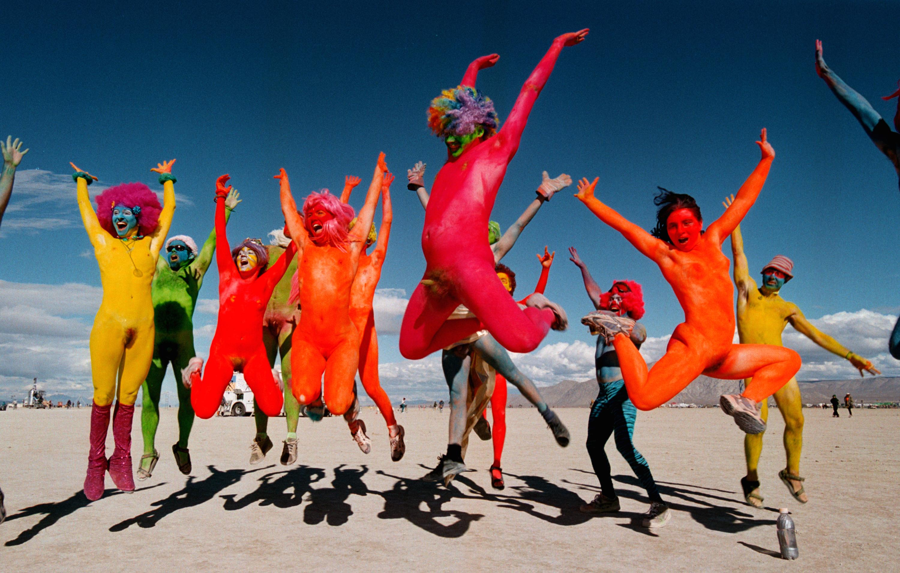 GettyImages 72501340 People Did Some Weird Sh*t At Burning Man Festival This Year