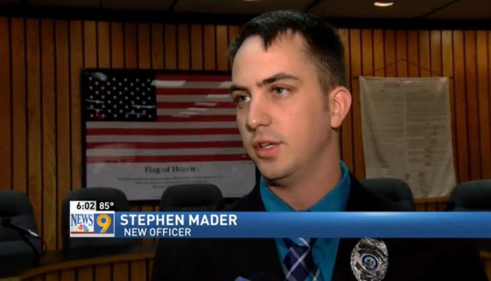 Stephen Mader2 American Police Officer Sacked For Not Shooting Black Man