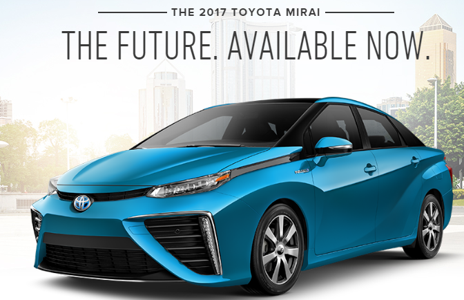 This New Car Is Powered By Human Waste Toyota Mirai