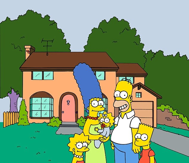 article 2527254 0AB4CBCD000005DC 727 634x565 1 Heres How Much The Simpsons House Really Costs