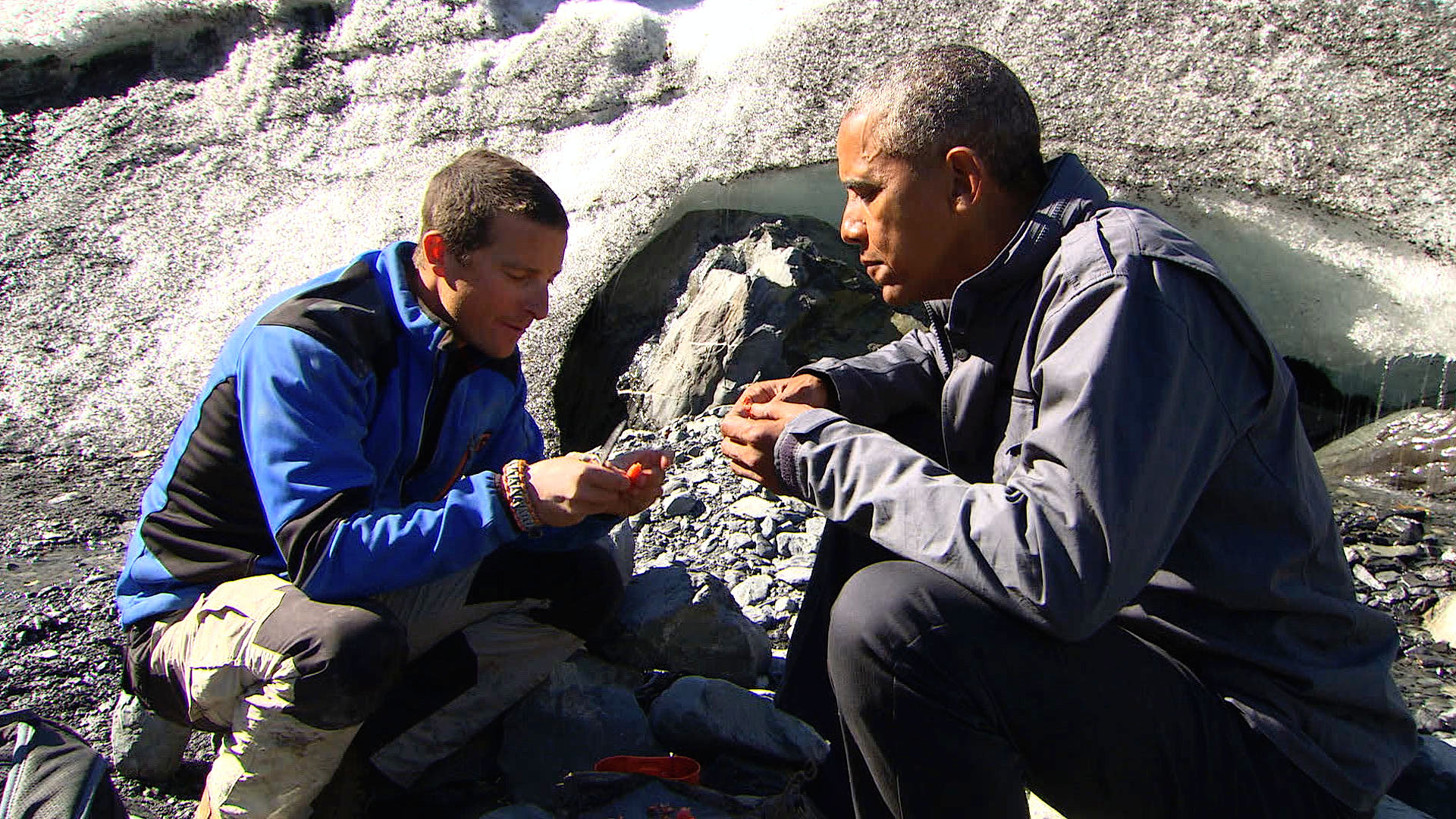 Bear Grylls Reveals Truth About Survival Mission With Barack Obama grylls1