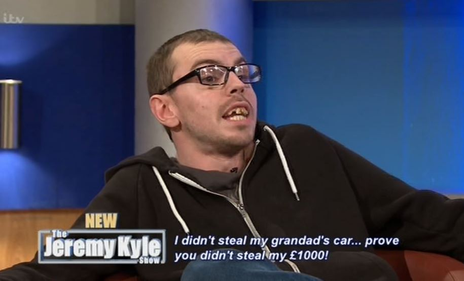 kyle2 Jeremy Kyle Guest Calls Him A C*nt Then Smashes TV In Angry Rampage